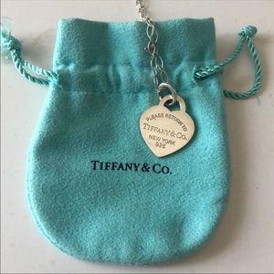 Tiffany & Co. Return to Tiffany Sterling Silver
